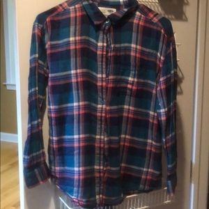 Old Navy flannel shirt like new-kids XL